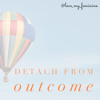 Home. Detach from Outcome